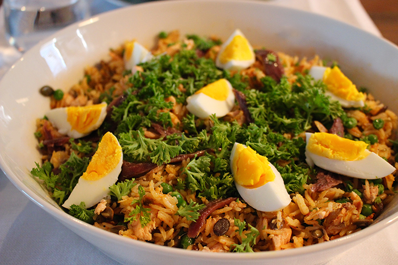 Zalmkedgeree