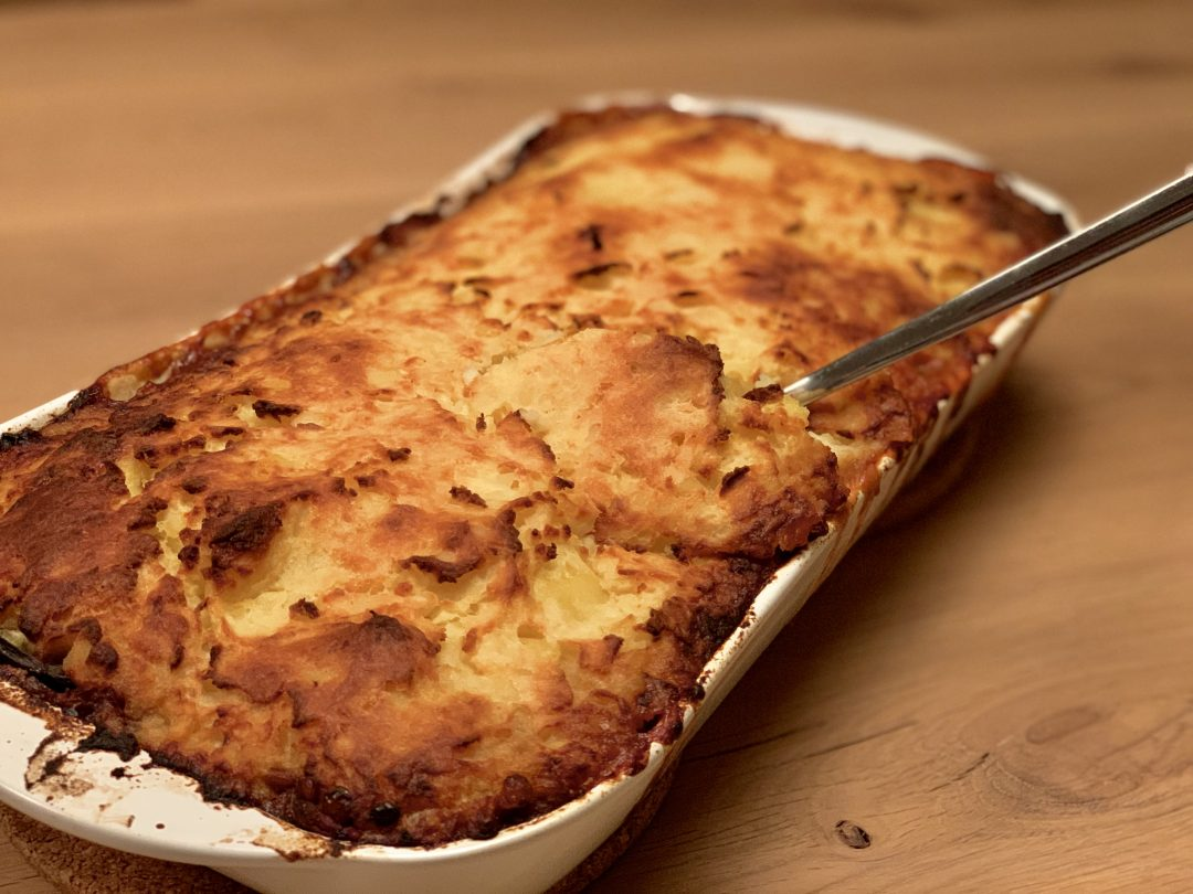 Vegetarische Moussake